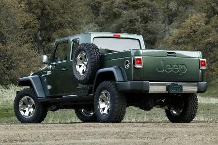 Jeep có thể sẽ sản xuất xe bán tải